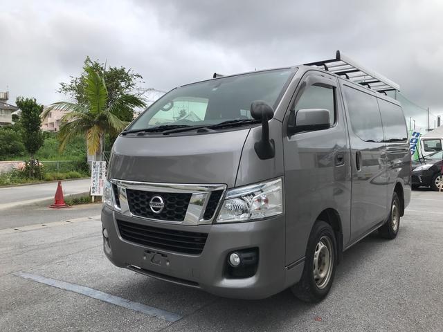 沖縄の中古車 日産 NV350キャラバンバン 車両価格 98万円 リ済別 2013(平成25)年 16.5万km グレーM