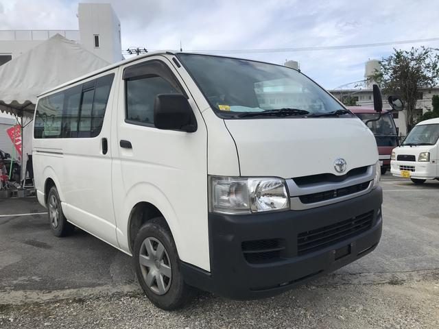 沖縄の中古車 トヨタ ハイエースバン 車両価格 99万円 リ済別 2009(平成21)年 16.1万km ホワイト