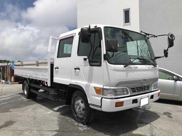 沖縄の中古車 日野 レンジャー 車両価格 ASK リ済別 1999(平成11)年 14.3万km ホワイト