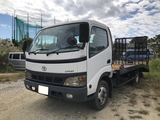 沖縄県沖縄市の中古車ならダイナトラック  1台積積載車 2t 5MT ディーゼル ウインチ リモコン