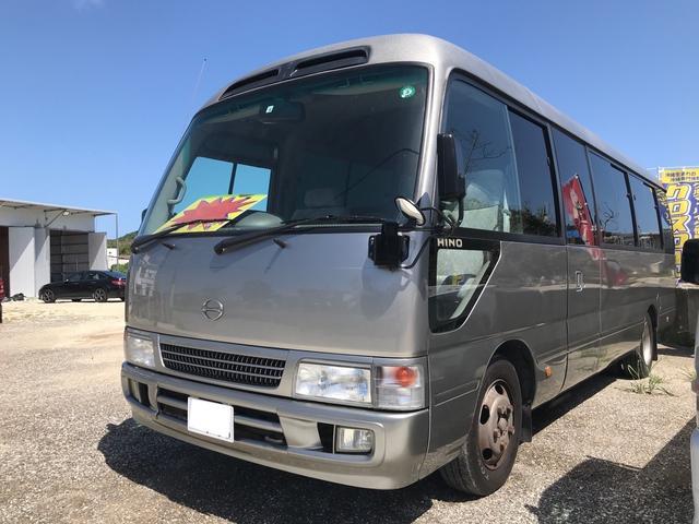 沖縄の中古車 日野 リエッセII 車両価格 ASK リ済別 2004(平成16)年 8.5万km グレーM