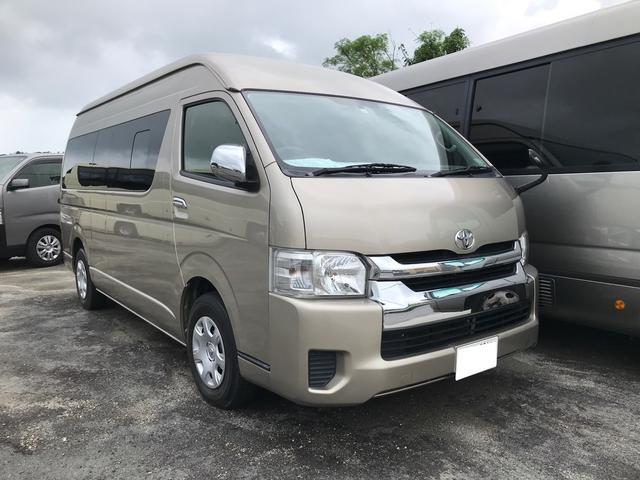 沖縄の中古車 トヨタ ハイエースワゴン 車両価格 ASK リ済別 2015(平成27)年 6.9万km ゴールドメタリック