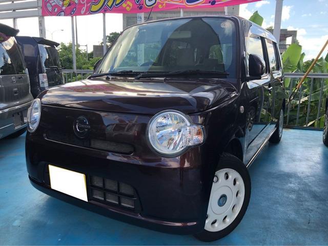 沖縄の中古車 ダイハツ ミラココア 車両価格 77万円 リ済込 平成26年 6.7万km ブラウン