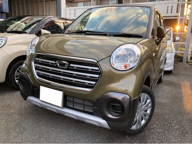 沖縄の中古車 ダイハツ キャスト 車両価格 142万円 リ済込 平成30年 4km DグリーンII