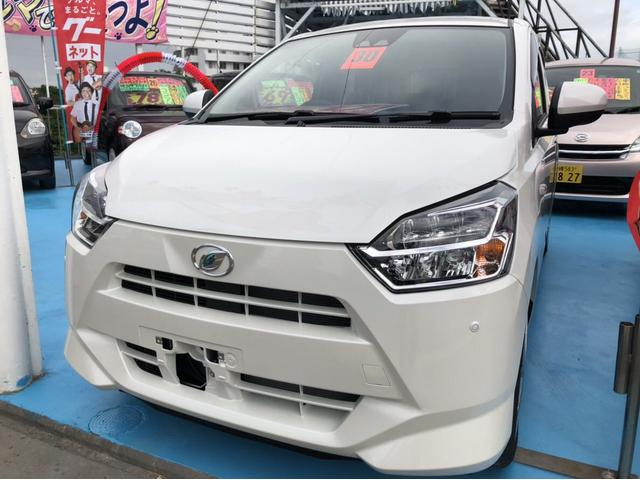 沖縄の中古車 ダイハツ ミライース 車両価格 114万円 リ済込 2018(平成30)年 215km ホワイト
