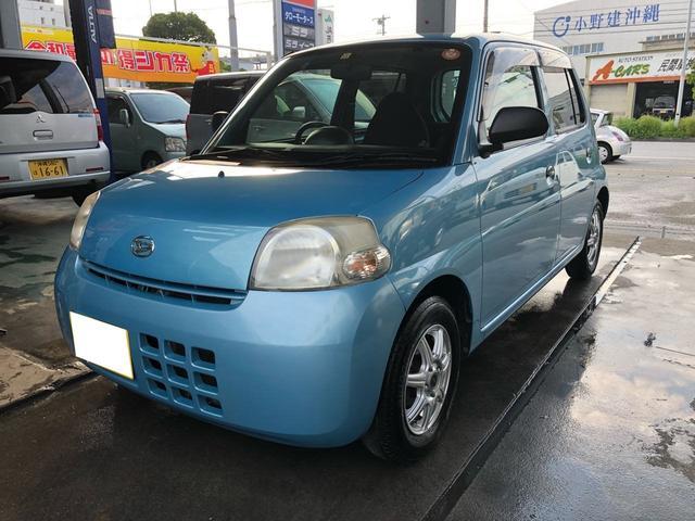 沖縄の中古車 ダイハツ エッセ 車両価格 ASK リ済込 2010(平成22)年 7.2万km ブルー