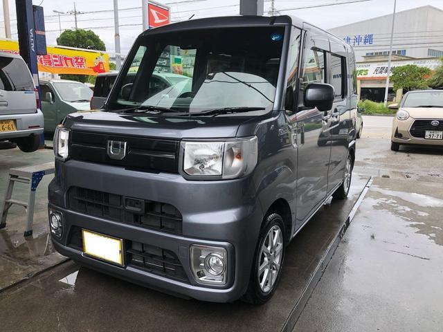 沖縄の中古車 ダイハツ ウェイク 車両価格 131万円 リ済込 2017(平成29)年 5.3万km グレーM