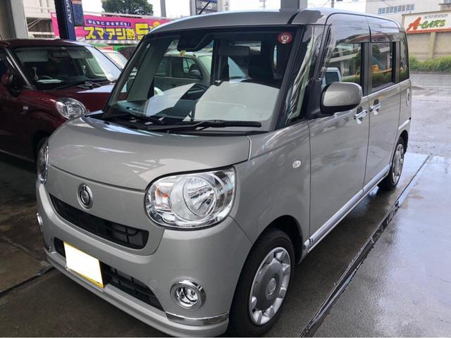 沖縄の中古車 ダイハツ ムーヴキャンバス 車両価格 131万円 リ済込 2019(令和1)年 0.9万km グレー