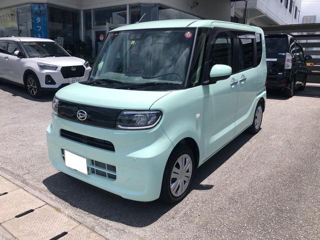 沖縄の中古車 ダイハツ タント 車両価格 139万円 リ済込 2019(令和1)年 370km グリーン