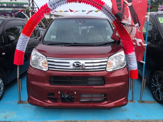 沖縄の中古車 ダイハツ ムーヴ 車両価格 124万円 リ済込 2020(令和2)年 7km レッド