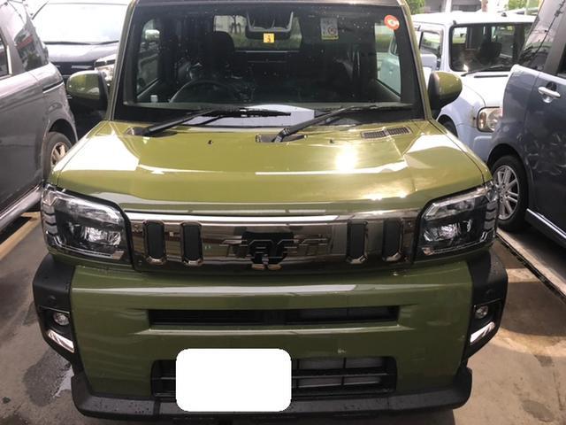 沖縄の中古車 ダイハツ タフト 車両価格 176万円 リ済込 2021(令和3)年 0.2万km グリーン
