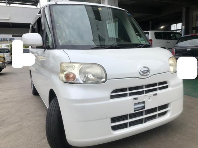 沖縄の中古車 ダイハツ タント 車両価格 9万円 リ済込 2009(平成21)年 9.8万km ホワイト