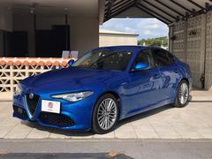 アルファロメオ ジュリアヴェローチェ右ハンドル2WDETC車載器新車保証継承
