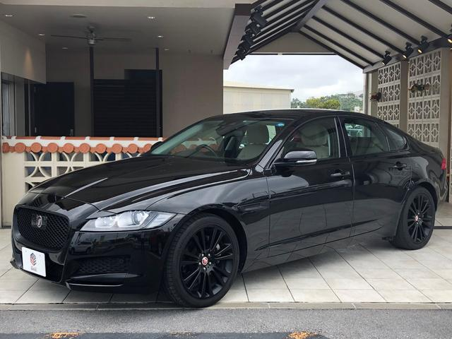 沖縄県の中古車ならジャガー XF プレステージ ブラックパッケージ仕様車新車保証継承