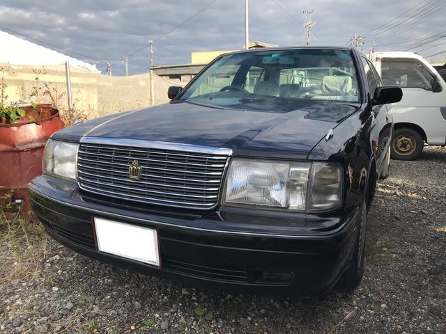 沖縄県の中古車ならクラウン ロイヤルサルーン LPG キーレス
