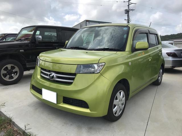 沖縄の中古車 トヨタ bB 車両価格 35万円 リ済込 2006(平成18)年 8.7万km グリーン