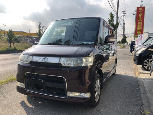 沖縄の中古車 ダイハツ タント 車両価格 19万円 リ済込 2006(平成18)年 15.8万km ブラウン