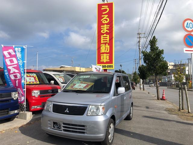 沖縄県の中古車ならeKワゴン M 内地中古車・3.7万km実走行車・車検2年即納OK