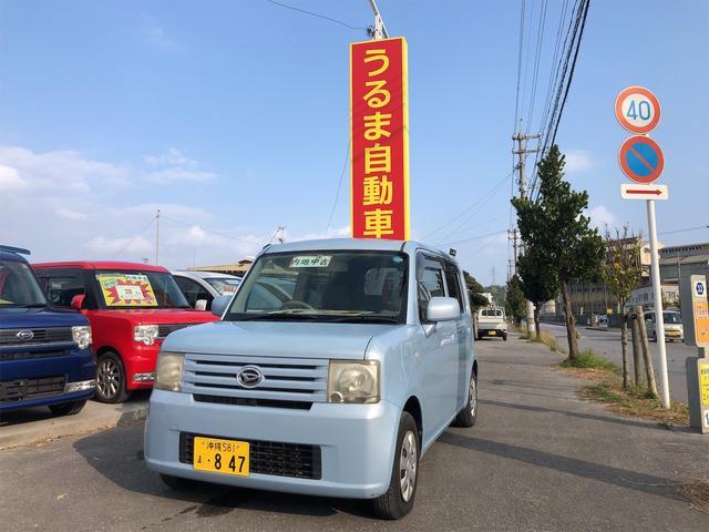 沖縄の中古車 ダイハツ ムーヴコンテ 車両価格 27万円 リ済込 2009(平成21)年 15.2万km ライトブルー