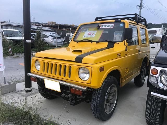 沖縄県の中古車ならジムニー 内装ベージュシート・オールペン・内地厳選仕入・AT