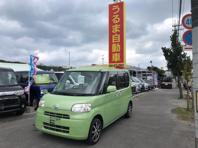 沖縄県うるま市の中古車ならタント X・電動スライド・ナビ・スマートキー・内地車・アルミ・禁煙車