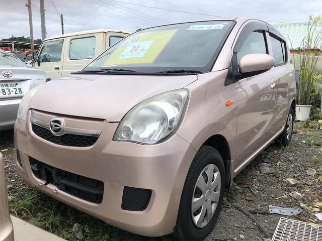 沖縄の中古車 ダイハツ ミラ 車両価格 14万円 リ済別 2010(平成22)年 9.1万km ピンク
