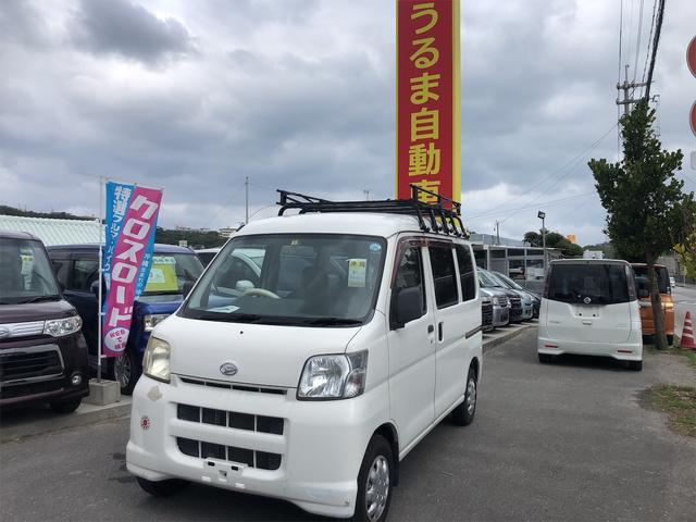 ダイハツ 内地中古車・5MT・キャリア付タイベル交換済・集中ロック