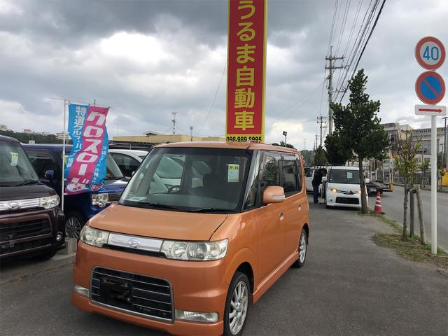 沖縄県うるま市の中古車ならタント カスタムVS・内地中古車・修復無・車検2年・アルミ