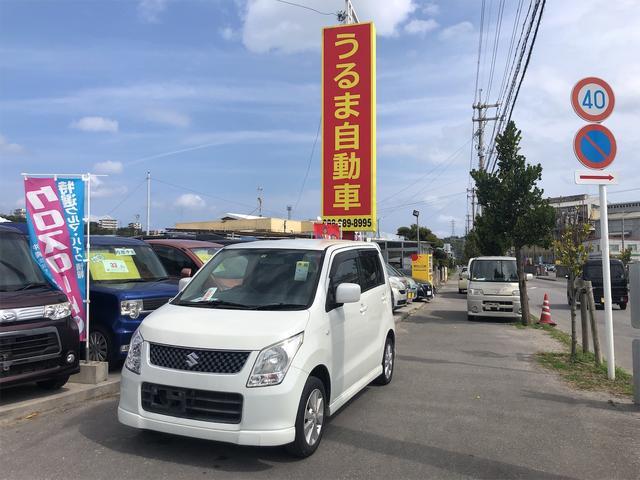沖縄の中古車 スズキ ワゴンR 車両価格 17万円 リ済別 2009(平成21)年 13.3万km パール