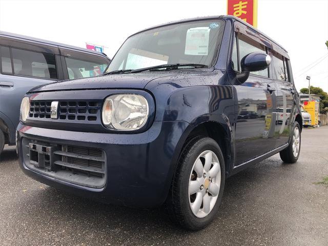 沖縄県の中古車ならアルトラパン X・内地仕入・プッシュスタート・アルミ・内装ベージュ・整備付