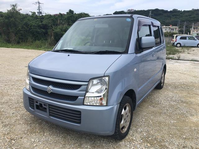沖縄県の中古車ならワゴンR 5MT⇒マニュアル・修復無・整備記録簿付・アルミ