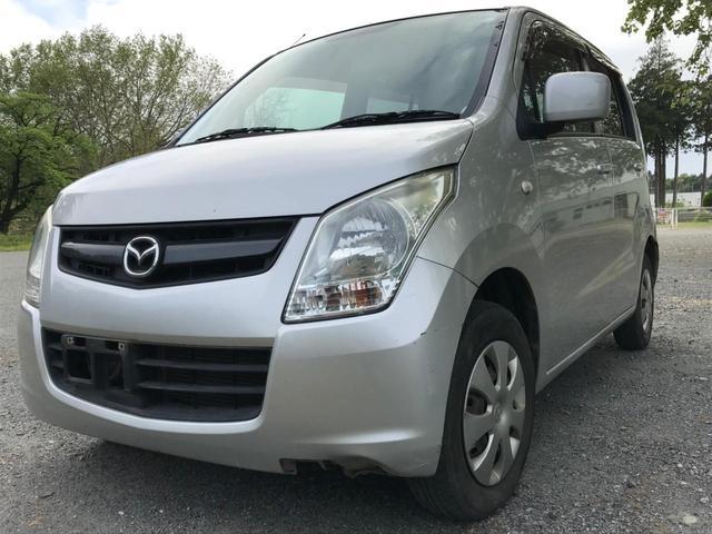 沖縄の中古車 マツダ AZワゴン 車両価格 15万円 リ済別 2009(平成21)年 7.6万km シルバー