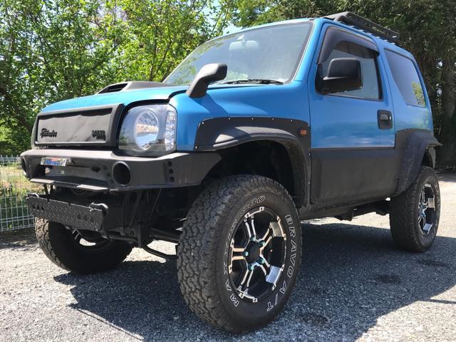 沖縄県うるま市の中古車ならジムニーワイド JZ・内地仕入・専門店デモ車・カスタム車MT