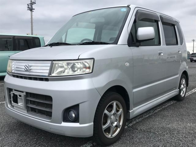 沖縄県の中古車ならワゴンR スティングレーX・内地仕入・修復無・HID社外アルミ・整備付