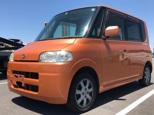 沖縄県の中古車ならタント X・内地車・7万km・整備点検記録簿付・純正アルミ・キーレス