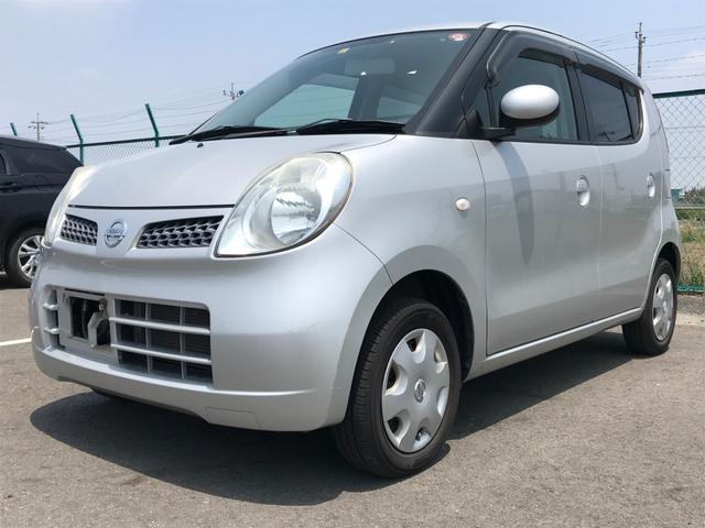沖縄の中古車 日産 モコ 車両価格 15万円 リ済別 2009(平成21)年 8.1万km シルバー
