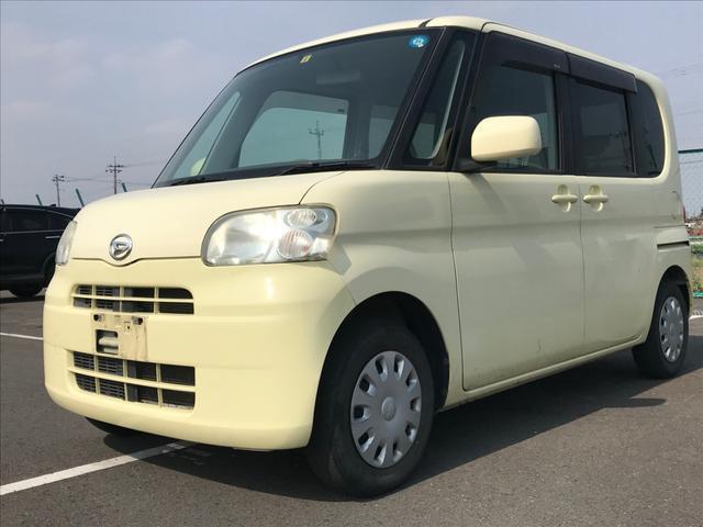 沖縄の中古車 ダイハツ タント 車両価格 16万円 リ済別 2009(平成21)年 12.7万km クリーム