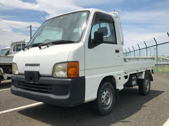 沖縄の中古車 スバル サンバートラック 車両価格 15万円 リ済別 2000(平成12)年 14.9万km ホワイト