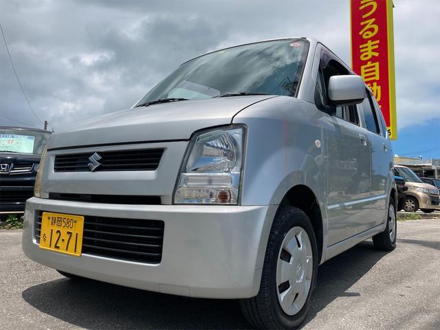沖縄の中古車 スズキ ワゴンR 車両価格 14.9万円 リ済別 2004(平成16)年 10.3万km シルバー