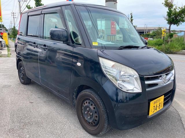 沖縄の中古車 スズキ パレット 車両価格 15万円 リ済別 2011(平成23)年 13.4万km ブラック