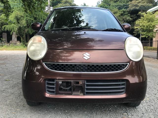 沖縄の中古車 スズキ MRワゴン 車両価格 17万円 リ済別 2007(平成19)年 7.3万km ブラウン