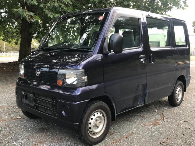 沖縄の中古車 日産 クリッパーバン 車両価格 15万円 リ済別 2011(平成23)年 16.9万km ダークブルー