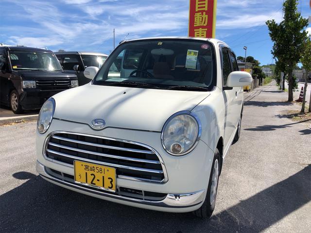 沖縄県の中古車ならミラジーノ X 内地仕入専門店・内地車両・車検 令和3年6月 パールホワイト・