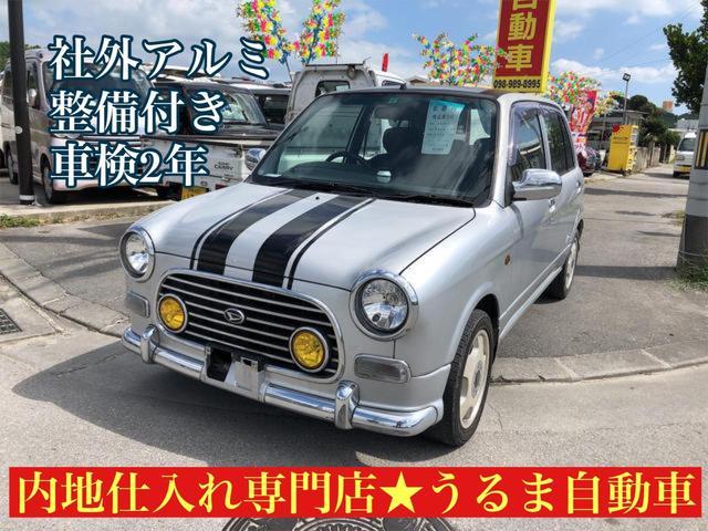 沖縄の中古車 ダイハツ ミラジーノ 車両価格 17万円 リ済別 2001(平成13)年 14.3万km シルバー