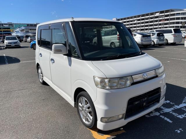 沖縄の中古車 ダイハツ タント 車両価格 17万円 リ済別 2006(平成18)年 10.7万km ホワイト