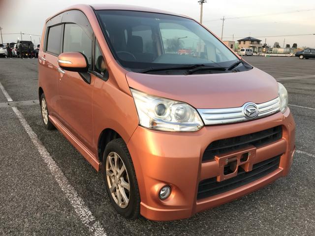 沖縄の中古車 ダイハツ ムーヴ 車両価格 19万円 リ済別 2012(平成24)年 15.1万km シルバー