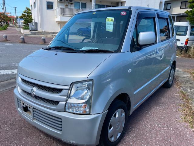 沖縄の中古車 スズキ ワゴンR 車両価格 15万円 リ済別 2006(平成18)年 9.5万km シルバー