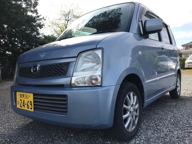 沖縄の中古車 マツダ AZワゴン 車両価格 16.9万円 リ済別 2004(平成16)年 7.3万km ブルーM