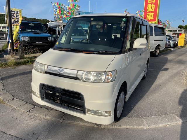 沖縄の中古車 ダイハツ タント 車両価格 18万円 リ済別 2006(平成18)年 11.7万km パールホワイト