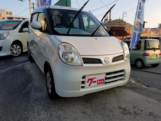 沖縄の中古車 日産 モコ 車両価格 15万円 リ済込 2008(平成20)年 9.1万km パールホワイト